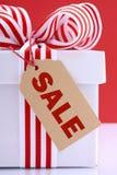 推销活动礼物盒 库存照片