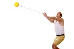 掷链球 免版税库存图片