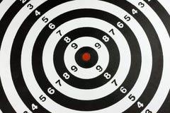 掷镖的圆靶 免版税库存图片