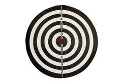 掷镖的圆靶 图库摄影