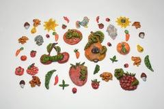 描述夏天虫的工艺品 图库摄影