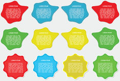 描述标签 免版税库存照片