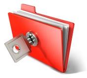 提供专用的文件夹 图库摄影