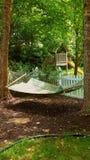 提供休息的地方吊床 免版税库存照片