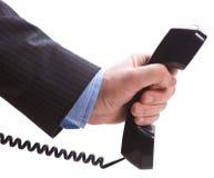 提供电话收货人的现有量 库存照片