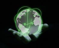 提供经费给全球 免版税库存照片