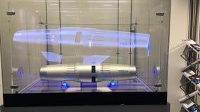 提出有电子固体冷却的Festo超导的紧凑爪杆马达在Messe市场在汉诺威 股票录像