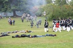 提前的步兵排行联盟 免版税库存照片
