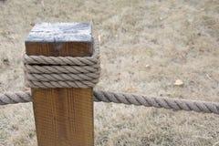 提升钢丝绳 免版税库存图片
