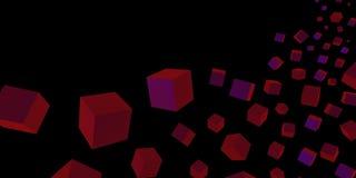 提取与几何形状的背景 库存例证