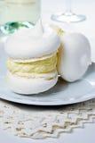 提取乳脂蛋白甜饼 免版税库存图片