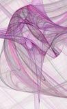 提取交叉紫色 免版税库存照片