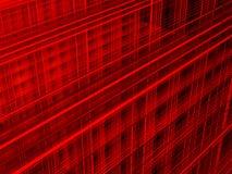 提取红色背景 向量例证