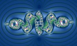 提取花卉模式 用花盖的珍珠 皇族释放例证