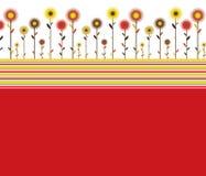 提取花卉背景 免版税库存照片