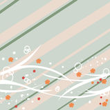 提取设计花卉柔和的淡色彩 免版税库存图片