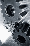 提取齿轮机械 免版税库存图片