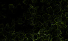 提取绿色模式 图库摄影