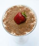 提拉米苏用草莓 免版税库存图片