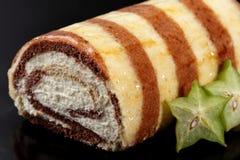 提拉米苏蛋糕 免版税库存照片