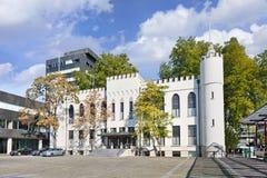 提耳堡大学,荷兰古城大厅  图库摄影