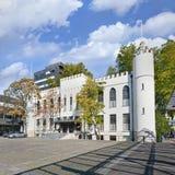 提耳堡大学,荷兰古城大厅  免版税库存图片
