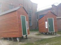 提耳堡大学StreerArt 库存图片