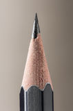 提高的铅笔特写镜头视图 库存图片