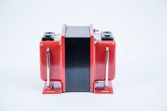 提高,逐步减低的电压交换器 库存照片