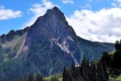 提洛尔山 库存图片