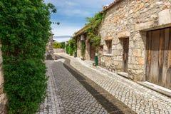 插入式放大器做乌尔索村庄,法蒂玛,葡萄牙 免版税图库摄影