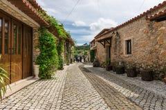 插入式放大器做乌尔索村庄,法蒂玛,葡萄牙 免版税库存照片