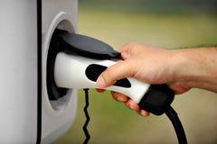 插入式代用燃料概念 免版税库存图片