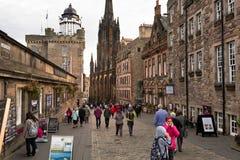 插孔在爱丁堡 免版税库存照片