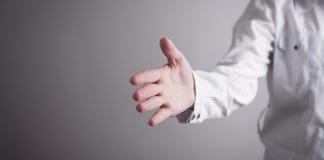 握手的提供的手 成交概念 图库摄影