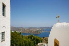 揭示洞在希腊 免版税库存照片