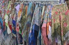 搁置与整洁的方巾 免版税库存图片