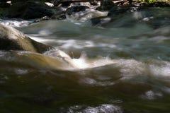 搅动的水 免版税库存照片