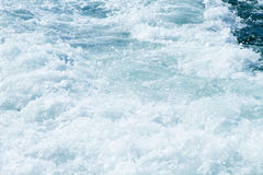 搅动的海水 库存图片