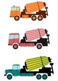 搅拌器卡车。 免版税库存图片