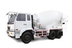 搅拌机卡车 免版税库存图片