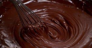 搅拌转动的牛奶巧克力, 股票录像