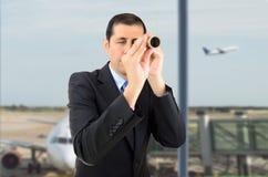 搜寻一个新的工作 免版税库存照片