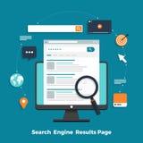 搜索引擎概念 库存例证