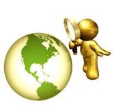 搜索解决方法世界 向量例证