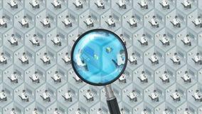 搜寻并且发现与放大器的最佳的好雇员工作办公室工作人员人力资源HR求职概念 最佳的工作 影视素材