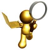 搜索解决方法 库存图片