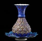 搪瓷花瓶 免版税库存照片
