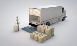 搬运程序 免版税库存照片