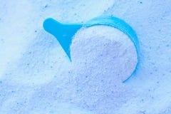 搽粉的洗涤剂 免版税库存照片